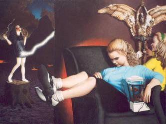 The Angel Of The Blender by kolaboy