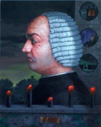 Donatien Alphonse Francois  Marquis de Sade by kolaboy