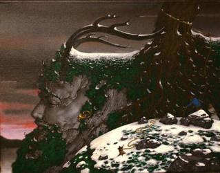 Le sommeil de Herne le chasseur by kolaboy