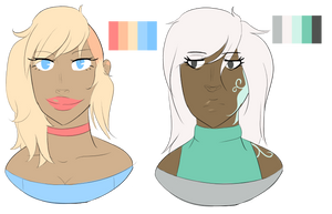 Palette Headshot adopts {1/2 OPEN} by SnarkyAdopts