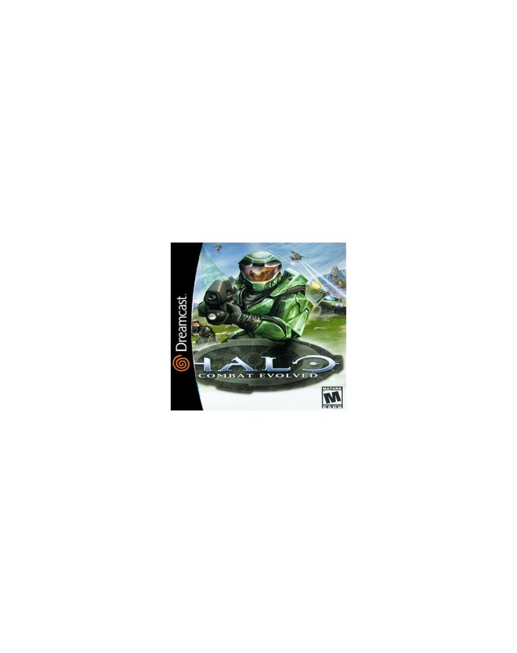 Halo Dreamcast Cover Art by Gamerz31w