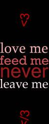 Never Leave Me by cho-oka