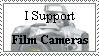 I Support Film Cameras by dAStamp