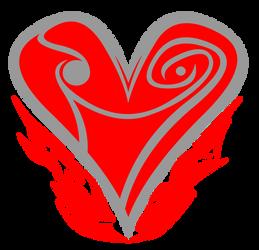 Cutie Mark - The Iron Heart by Alexlayer
