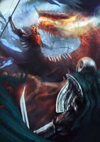 Dragon master by Nahelus