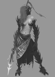 Creature concept: Sons of madness: Guardian by Nahelus