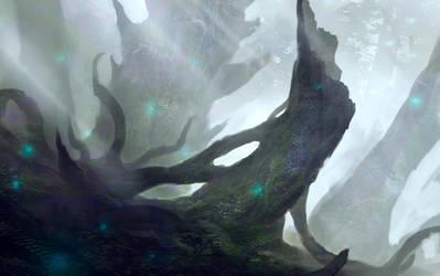 Forest speedpaint by Nahelus