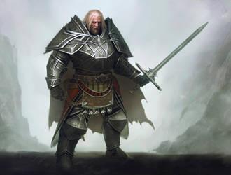 Warrior by Nahelus