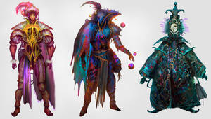 Illusionist mages by Nahelus