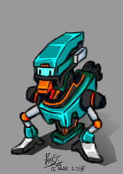 March of Robots 2018 - 01 Duck Robo by Poila-Invictiwerks