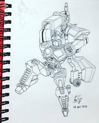 20 Sketches 20 Days Apr 2018 02 Optimus Prime by Poila-Invictiwerks