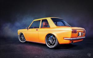 Datsun 510 by zarpex