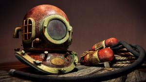 Divers Helmet by zarpex