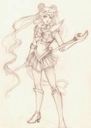 szkic_1_sailor moon by V-chanek