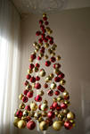 My unique Christmas tree by Trajkoska