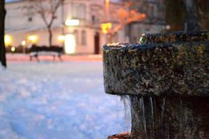 fountain by Trajkoska