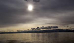 Sunset in Ohrid by Trajkoska