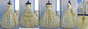 Belle's Honeymoon ballgown - Once Upon a Time by giusynuno