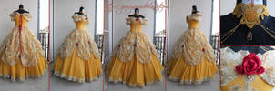 Belle Original design - Beauty and the Beast by giusynuno