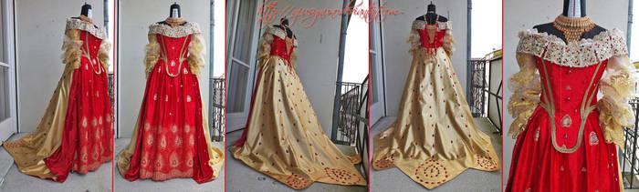 'Baroque Phoenix' original fantasy gown by giusynuno
