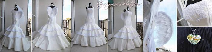 Angelina's wedding dress - Sacro/Profano by giusynuno