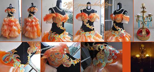 Bellydancer Belle from Blatterbury's design by giusynuno