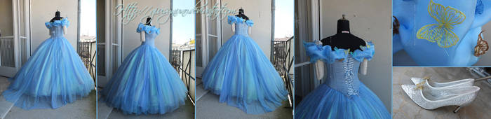 Disney's Cinderella 2015 Ballgown by giusynuno