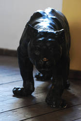 objects 05 - panther statue by oro-elui-stock