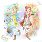 Atelier Mariel and Morie by kariavalon