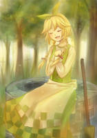 Singing by the Well by kariavalon