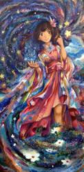 Flourishing Deity by kariavalon
