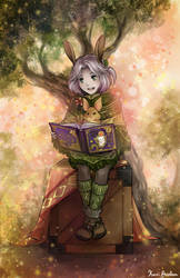 Corrine Reads a Story... by kariavalon
