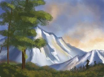Mountain Scene by Birdie121