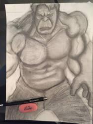 Hulk by adroitshrub