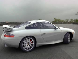 Porsche GT3 render 2 by mmajestik