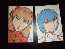 ATC cards 12-11-15 by PMDallasArt