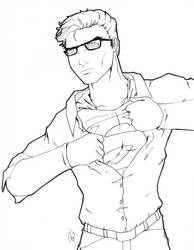 Superman WIP by PMDallasArt
