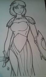 Snow White WIP by PMDallasArt
