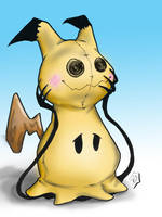 Pokemon Mimikkyu by PMDallasArt