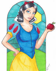 Snow White by PMDallasArt