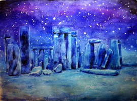 Stonehenge by Caligo-Rat