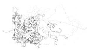 WoW WIP - All in the Family by vimfuego