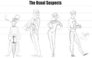 The Usual Suspects by vimfuego