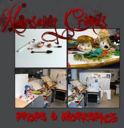 Nursery Crimes Workspace by vimfuego