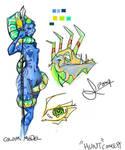 Hunt - Concept Art by vimfuego