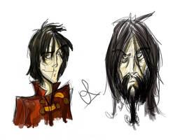 Sirius Black - Harry Potter by vimfuego