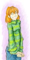 Ginny Weasley by vimfuego