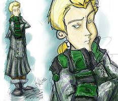 Draco Malfoy - Harry Potter by vimfuego