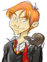 Ron Weasley by vimfuego