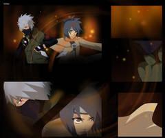 PC: Kakashi and anko FIGHT by EpicKakashi